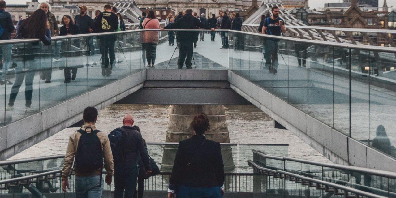 Pedestrians in London